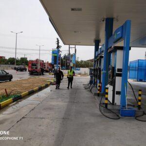 Διαρροή υγραερίου σε βενζινάδικο