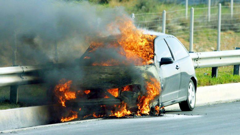 Πυρκαγιά στο αυτοκίνητο