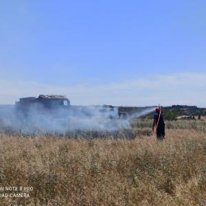 Κατάσβεση φωτιάς στο Μηδέν Πλαγιαρίου