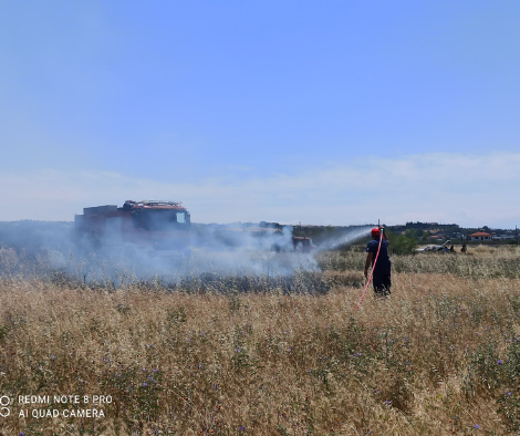 You are currently viewing Κατάσβεση φωτιάς στο Μηδέν Πλαγιαρίου