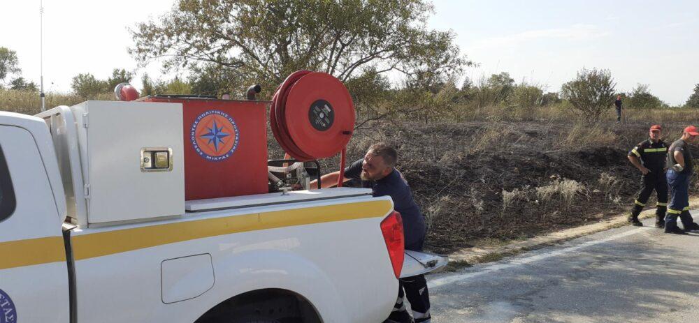 You are currently viewing Φωτιά στον Τρίλοφο, περιοχή Καμήλα